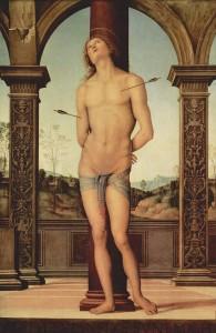 Saint Sébastien de Pietro Perugino